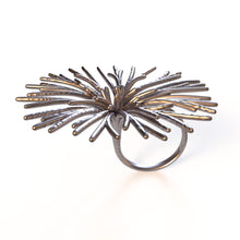 Load image into Gallery viewer, Flower Ring - zimarty - wearable architecture 3d printed jewelry