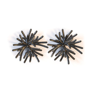 Flower Earring - zimarty - wearable architecture 3d printed jewellery