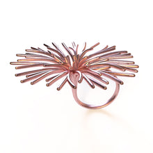 Load image into Gallery viewer, Flower Ring - zimarty - wearable architecture 3d printed jewellery