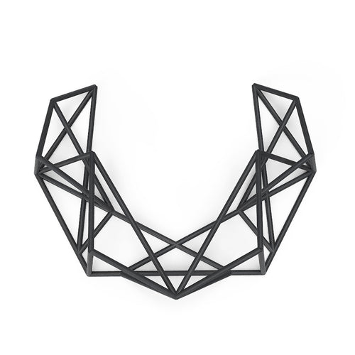 Mosalas Necklace - zimarty - wearable architecture 3d printed jewellery