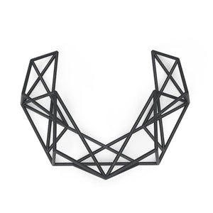 Mosalas Necklace - zimarty - wearable architecture 3d printed jewelry