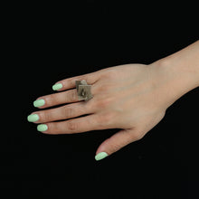 Load image into Gallery viewer, Z Plane Ring - zimarty - wearable architecture 3d printed jewellery