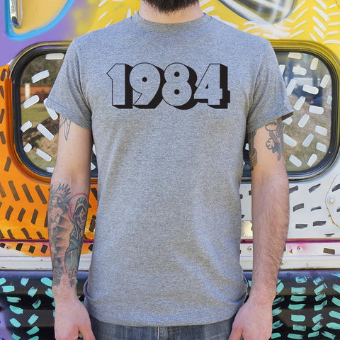 1984 T-Shirt (Mens) - Queen Bunnybee's Gifts