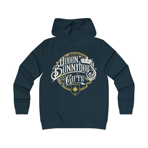 Girlie College Hoodie (Ships from United Kingdom) - Queen Bunnybee's Gifts