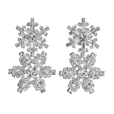 Snowflake Earrings - Queen Bunnybee's Gifts