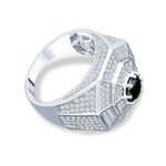 ENTICE 925 Sterling Silver Men's Ring 9210291 - Queen Bunnybee's Gifts