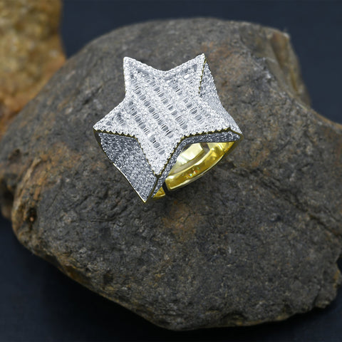 EMINENT Gold Plated 925 Silver Ring w Cubic Zirconia 9211542 - Queen Bunnybee's Gifts