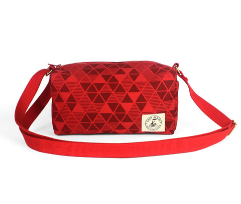 Ellie Crossbody: Pyramid Red - Queen Bunnybee's Gifts