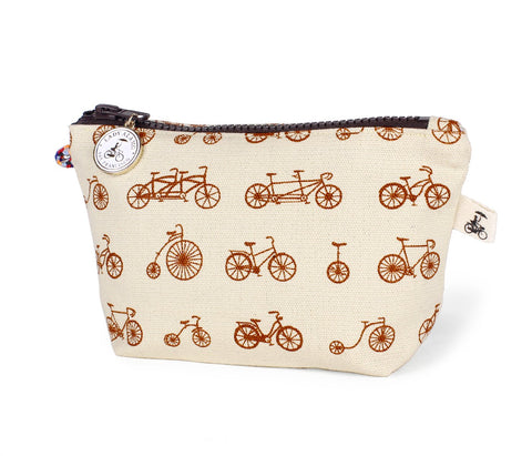 Little Zip: Bike Galore Sepia - Queen Bunnybee's Gifts