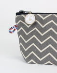 Little Zip: Ash Chevron - Queen Bunnybee's Gifts