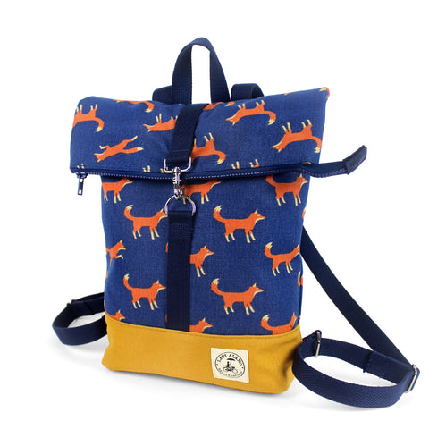 Mini Brightday Backpack: Fox - Queen Bunnybee's Gifts