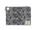 Miss Zip: Pyramid Grey With Key Ring - Queen Bunnybee's Gifts
