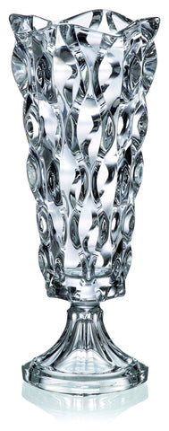 SAMBA White Footed Vase - Queen Bunnybee's Gifts