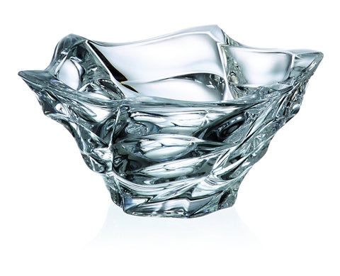 FLAMENCO White Crystal Bowl - Queen Bunnybee's Gifts