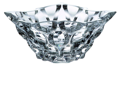 White Crystal Glass Bowl - Queen Bunnybee's Gifts