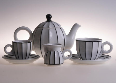 Retro coffee/tea set - Queen Bunnybee's Gifts
