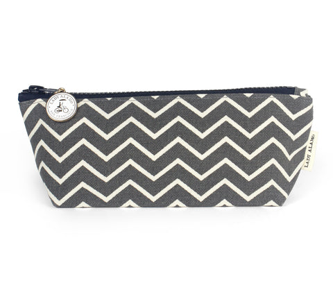 Skinny Zip: Ash Chevron - Queen Bunnybee's Gifts