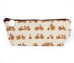 Skinny Zip: Bike Galore Sepia - Queen Bunnybee's Gifts