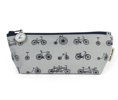 Skinny Zip: Bike Galore Slate - Queen Bunnybee's Gifts