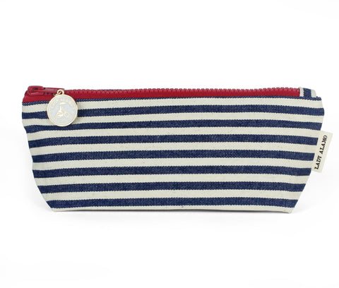 Skinny Zip: Nautical Stripe - Queen Bunnybee's Gifts