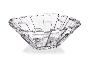 BOLERO White Crystal Bowl - Queen Bunnybee's Gifts