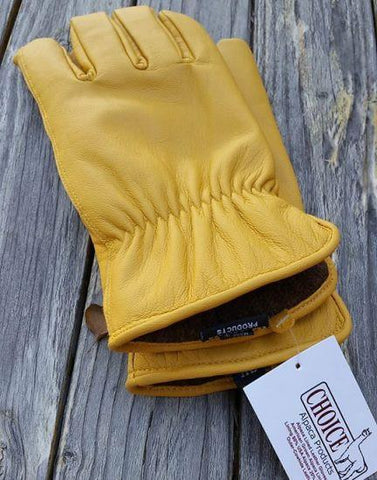 Genuine Alpaca Knit Lined Cowhide Leather Gloves - Alpaca - Queen Bunnybee's Gifts