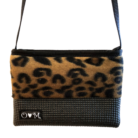 Black & Brown Cheetah Print Purse - Queen Bunnybee's Gifts