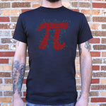 Cherry Pi T-Shirt (Mens) - Queen Bunnybee's Gifts