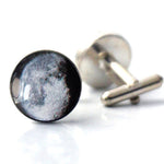 Personalized - Birth Moon Cuff Links - Queen Bunnybee's Gifts