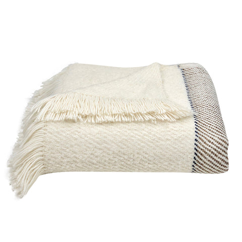 Plush Striped Alpaca Throw - Queen Bunnybee's Gifts