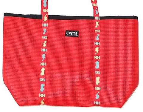 Merle Red Medium Tote Bag - Queen Bunnybee's Gifts