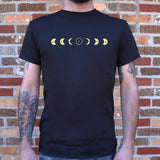 Eclipse Moon Phases T-Shirt (Mens) - Queen Bunnybee's Gifts