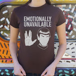 Emotionally Unavailable LLAP T-Shirt (Ladies) - Queen Bunnybee's Gifts