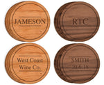 Personalized Coasters - Queen Bunnybee's Gifts