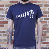 Evolution To Termination Technology T-Shirt (Mens) - Queen Bunnybee's Gifts