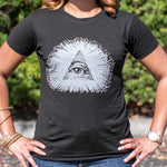 Eye Of Providence T-Shirt (Ladies) - Queen Bunnybee's Gifts