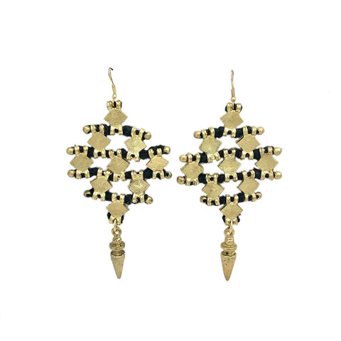 Nadu Tribal Earrings - Queen Bunnybee's Gifts