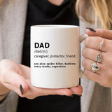 Father's Day Gift | Father's Day Mug | Dad Mug | I - Queen Bunnybee's Gifts