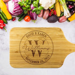 Personalized Cutting Board Custom Cutting Board - Queen Bunnybee's Gifts