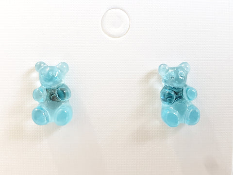 Gummy Bear Earrings - Several Colors to Choose - Queen Bunnybee's Gifts