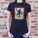 Merry Krampus T-Shirt (Ladies) - Queen Bunnybee's Gifts