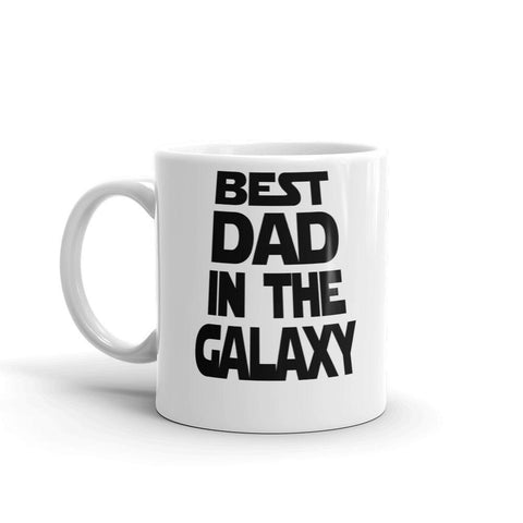 Best Dad in The Galaxy Coffee Mug - Queen Bunnybee's Gifts