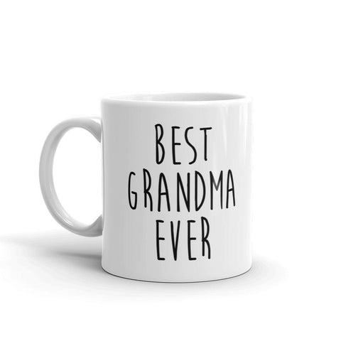 Best Grandma Ever Coffee Mug - Queen Bunnybee's Gifts