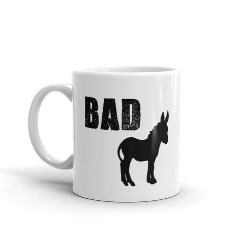 Bad Ass Donkey Coffee Mug - Queen Bunnybee's Gifts