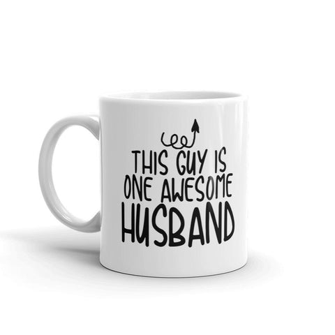 This Guy is one Awesome Dad Coffee Mug - Queen Bunnybee's Gifts