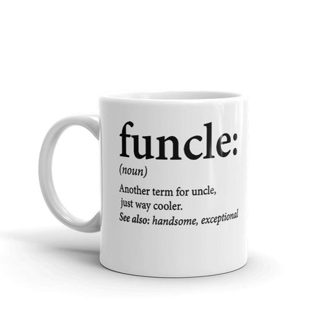 Funcle Definition Mug - Queen Bunnybee's Gifts