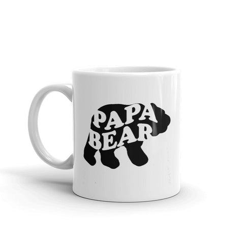 Papa Bear Dad Coffee Mug - Queen Bunnybee's Gifts