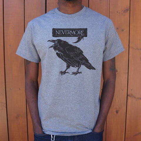 Nevermore Raven T-Shirt (Mens) - Queen Bunnybee's Gifts