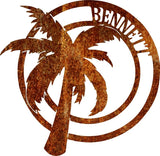 Palm Tree - Personalized - Queen Bunnybee's Gifts