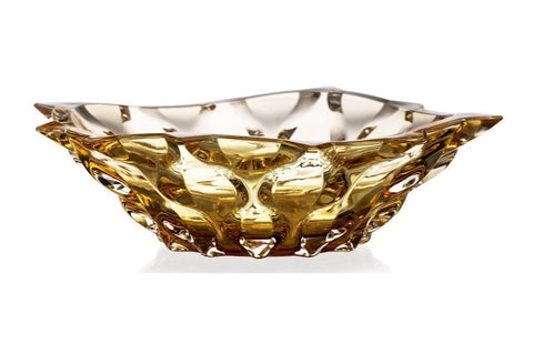 AMBER Crystal Bowl - Queen Bunnybee's Gifts